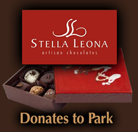 Stella Leona Donates to the Park