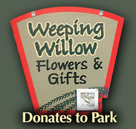 Weeping Willow Florist Donates to Park