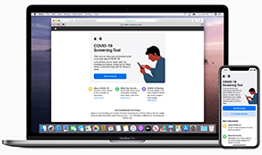 Apple new covid 19 website