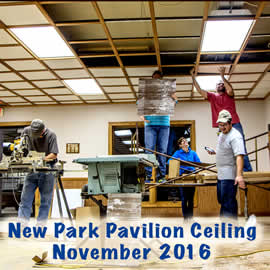 New Pavioion Ceiling